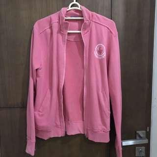 jacket pink merk jeep