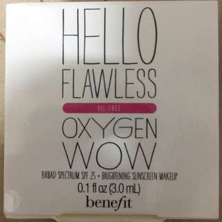 [Sample] Benefit Hello Flawless Oxygen Wow