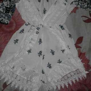 White Coachella Dress