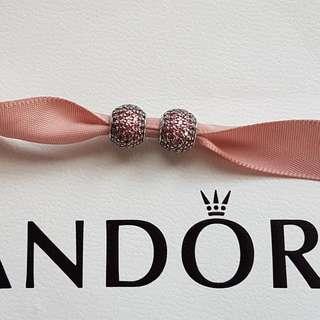 Authentic Pandora Paveball Charm