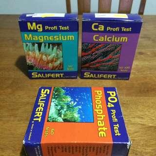 Salifert Ca and Mg Test Kits