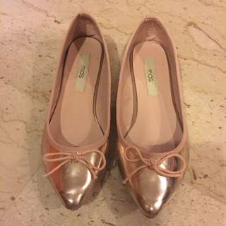Pink MDS Shiny Flats