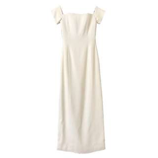Grace MMXIII Long White Off Shoulder Gown