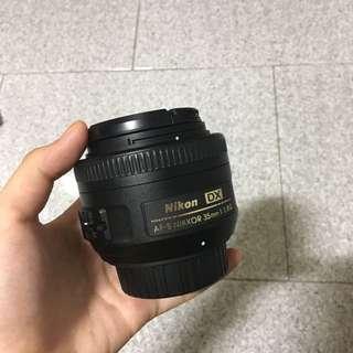 AF-S Nikkor 35mm f1.8 G Lens