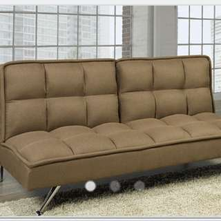 Brand New Fabric Sofa Bed In Beige Colour
