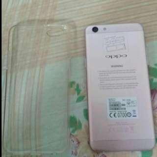 Oppo F3 Rose Gold