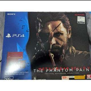 PS4 Limited edition Metal Gear Solid V