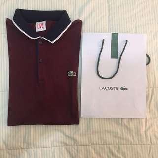 Lacoste Live Maroon Polo Shirt