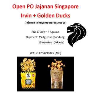 Open PO snack di Singapore (Irvin, Golden Duck dan lainnya)