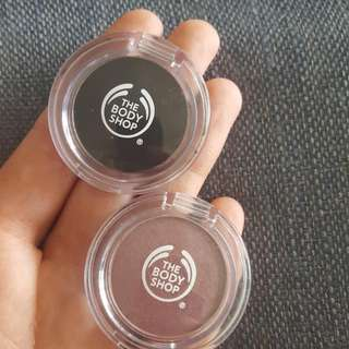 Body Shop Eyeshadows