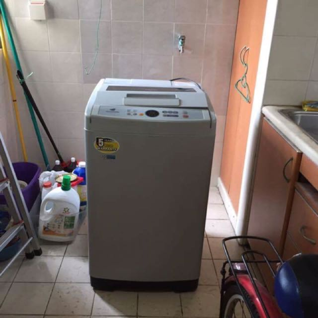 7.5kg samsung top loader washing machine