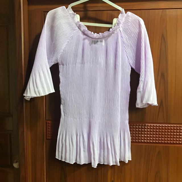 紫色飄飄衣