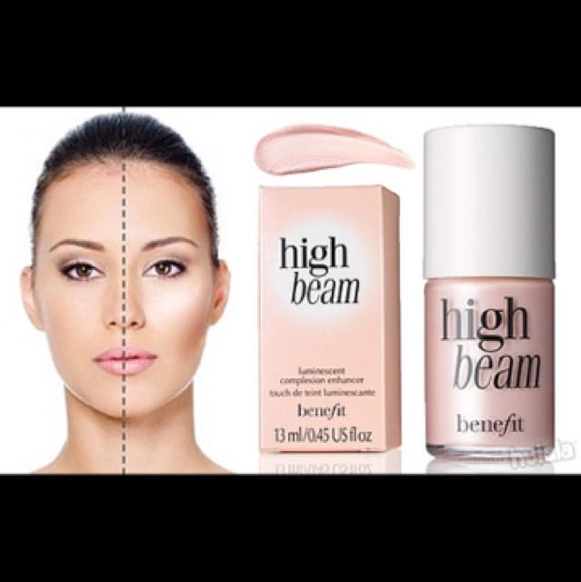 歐美 🇺🇸 Benefit High Beam Liquid Face Highlighter 超模粉紅高光立體打亮液