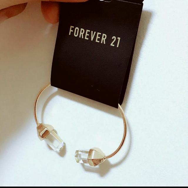 追加款😻熱賣中 Forever21水晶款手鐲