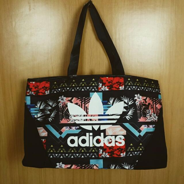 Adidas Floral Woven Bag, Women s Fashion, Bags   Wallets on Carousell 1321c738e7