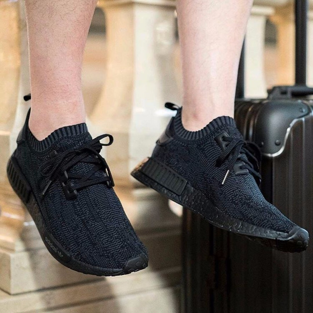 40804ad3a ADIDAS NMD PITCH BLACK COPY ORI
