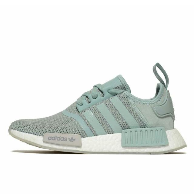 newest f22db 39bd0 Adidas NMD Runner R1 Women s Gift Box Blue Grey, Women s Fashion, Shoes on  Carousell
