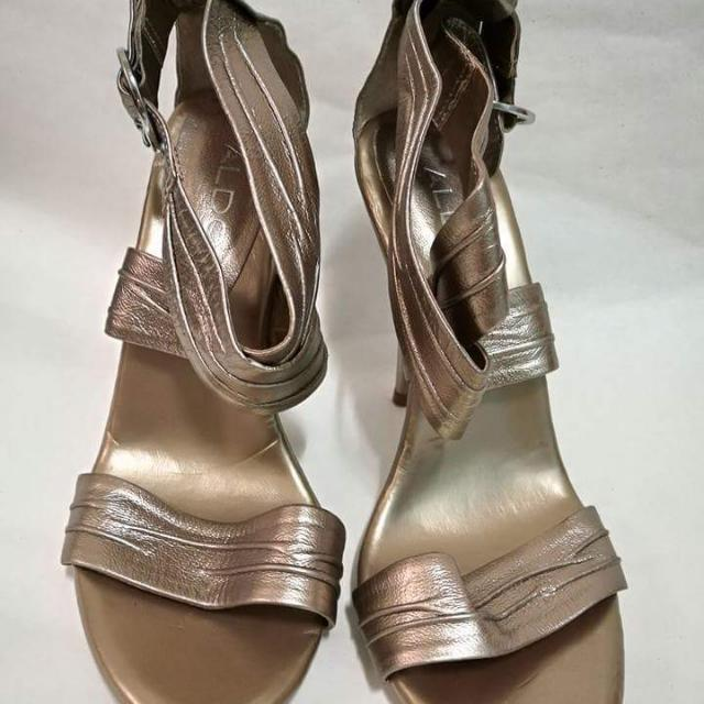 ALDO copper heels