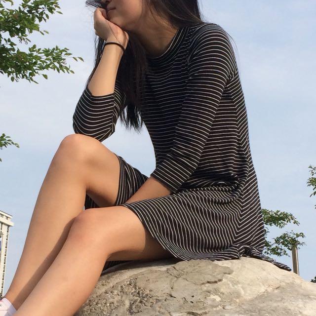 American Eagle Striped Dress