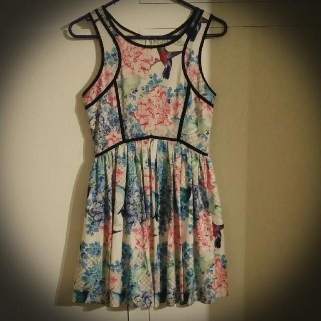 Angel Biba Floral Dress