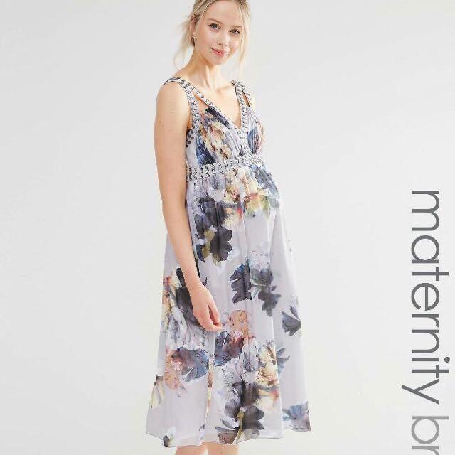560462782e40 ASOS Maternity Dress UK10, Babies & Kids, Maternity on Carousell
