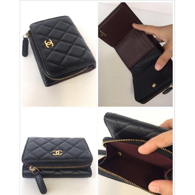 6c828c758e9851 Authentic Chanel Short Wallet, Luxury, Bags & Wallets on Carousell