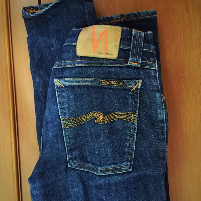 Authentic Nudie Jeans Sz 27 Woman