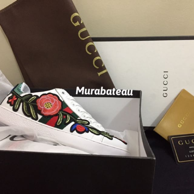 Authentic Overrun Gucci Sneakers