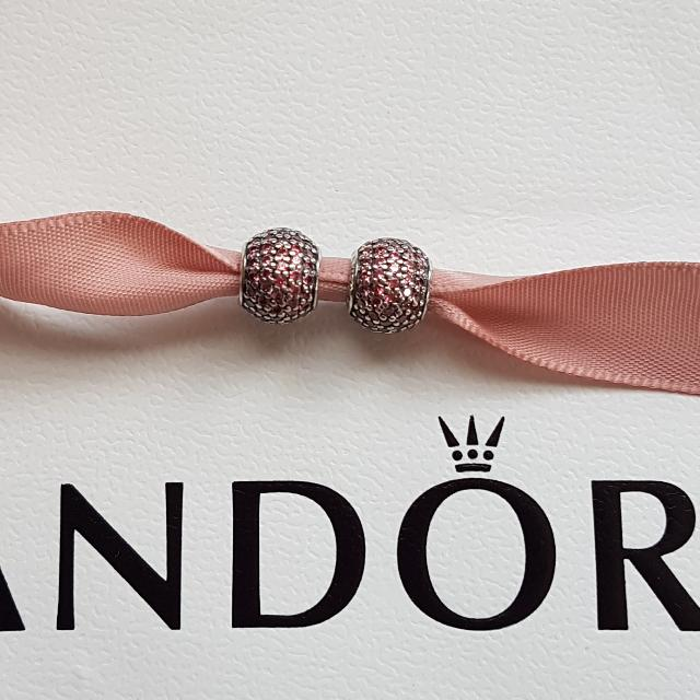 Authentic Pandora Paveball Charm