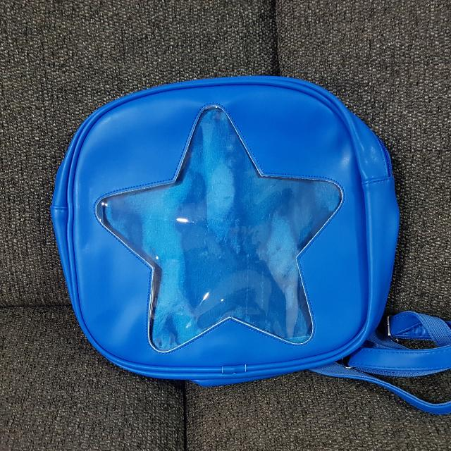 Authentic Ita Blue Wego Star Bag, Entertainment, J-pop on