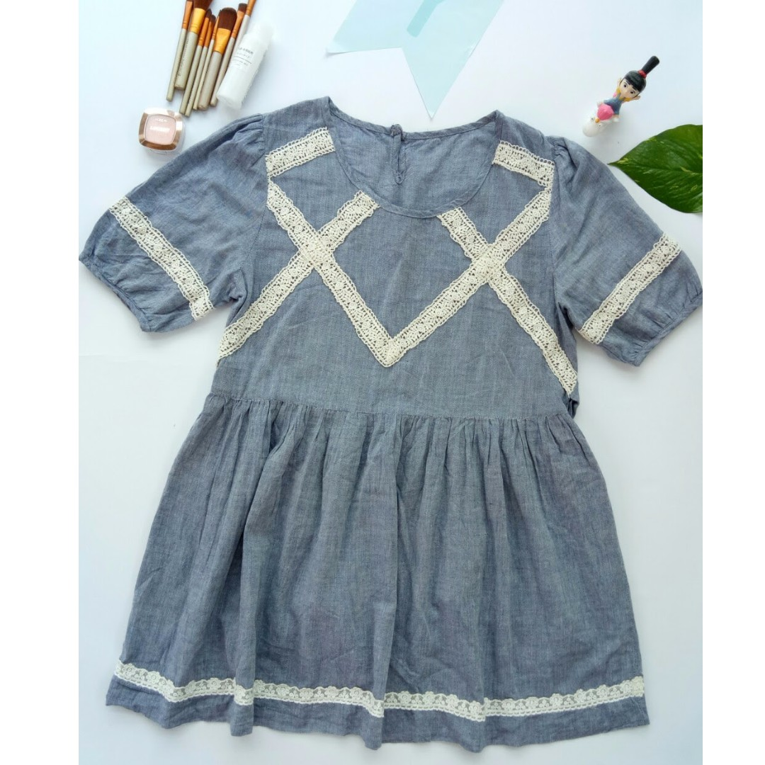 Babydoll Korean dress
