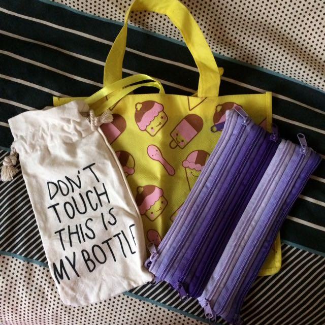 Bag, Pouch Bundle
