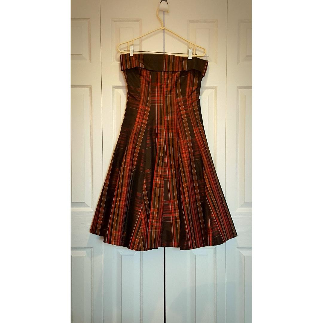 Ballroom formal dress