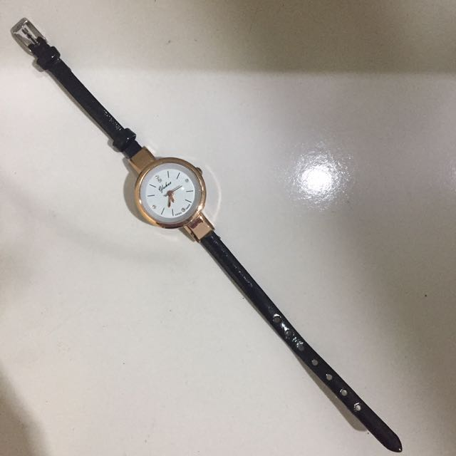 basic slim watch
