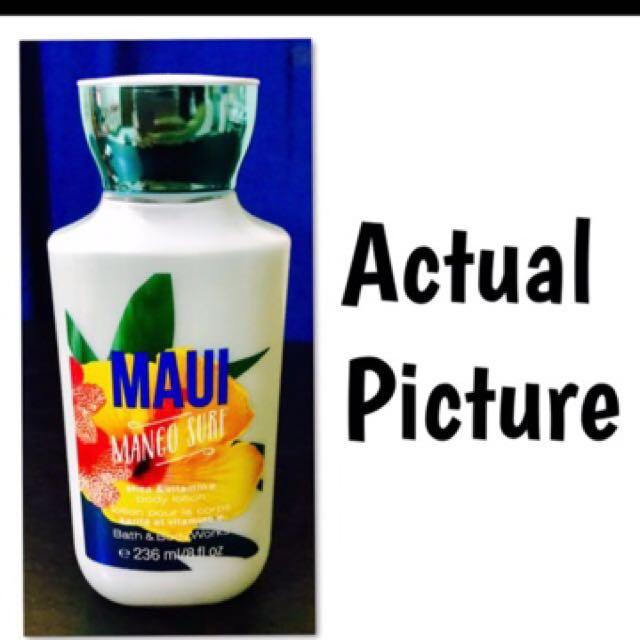 Bath and Body Works: Maui Mango Surf Lotion