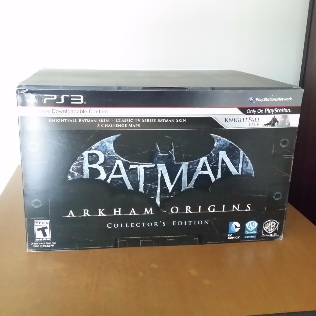 Batman: Arkham Origins U S  Exclusive Collector's Edition (PS3)