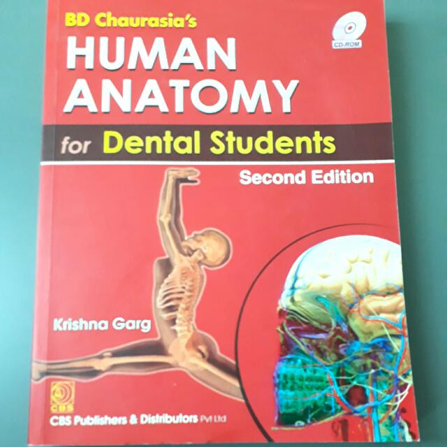 Bd Chaurasias Human Anatomy For Dental Students Second Edition