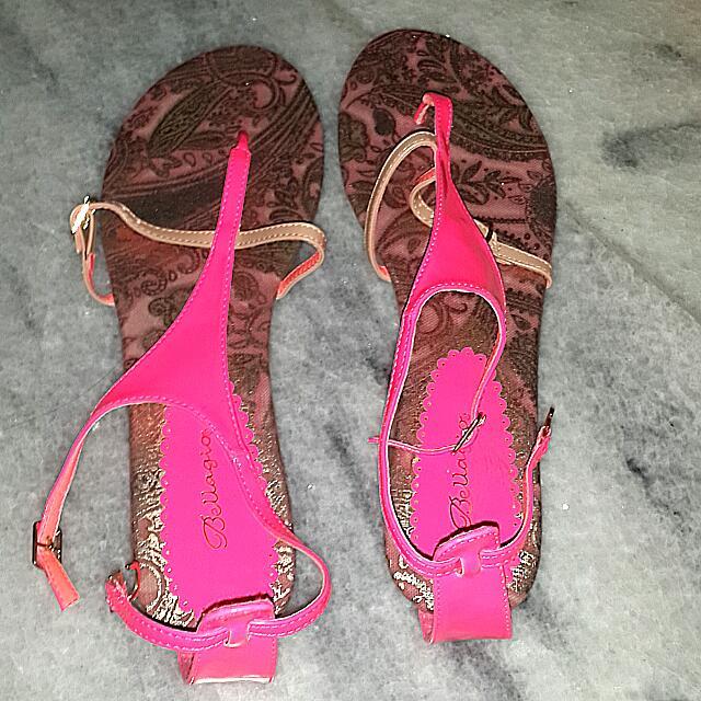 Bellagio Pink Ethnic Sandal