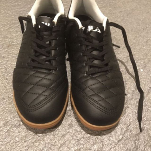 Black Fila Indoor Football/soccer Boots