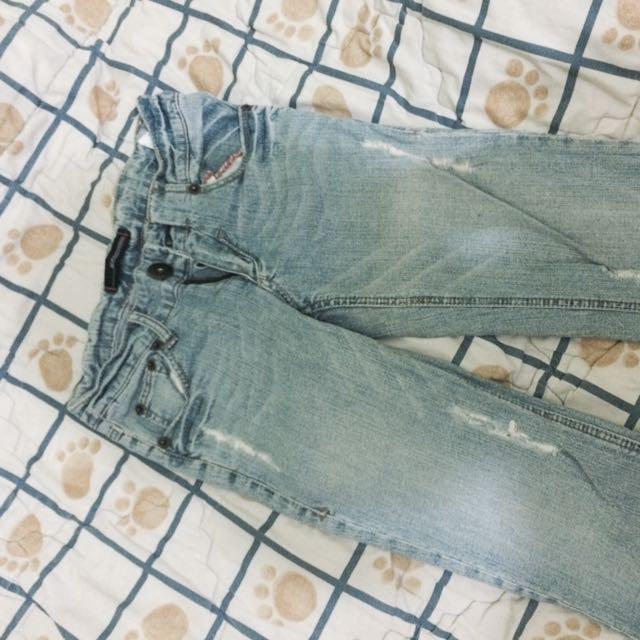 Blue exchange jeans