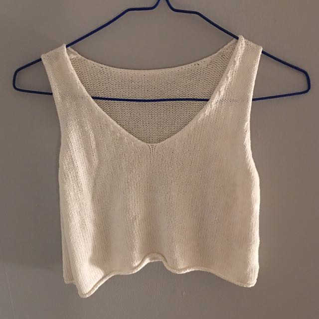 Brandy Melville Knit Cropped Top
