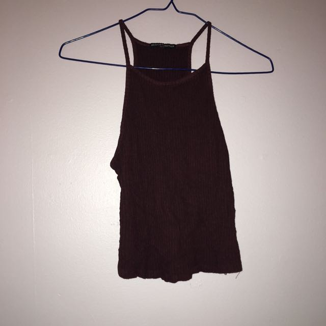 Brandy Melville Ribbed Tank Top