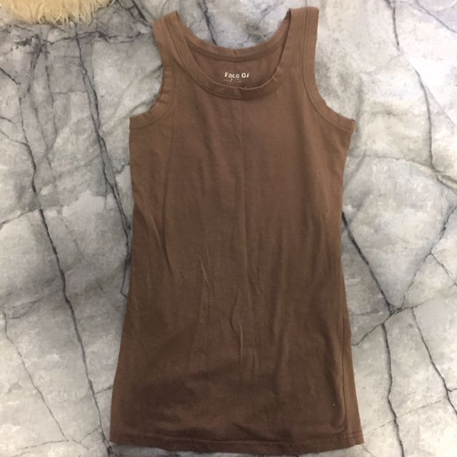 Brown Long Tank