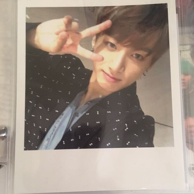 BTS Jungkook WINGS Official Photocard