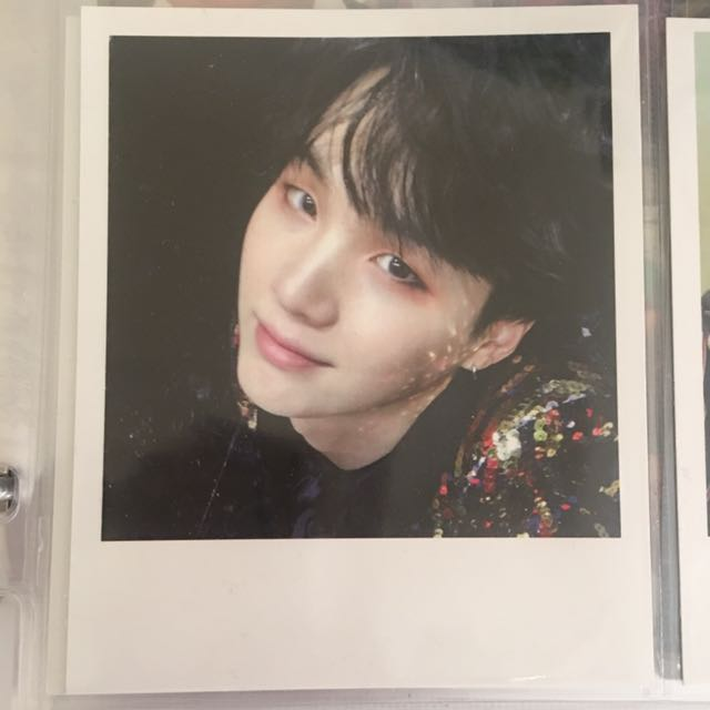BTS Suga WINGS Official Photocard