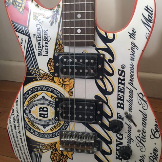 Budweiser Electric Guitar