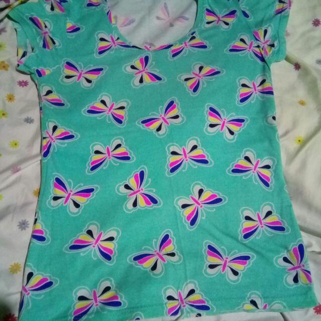 butterfly shirt