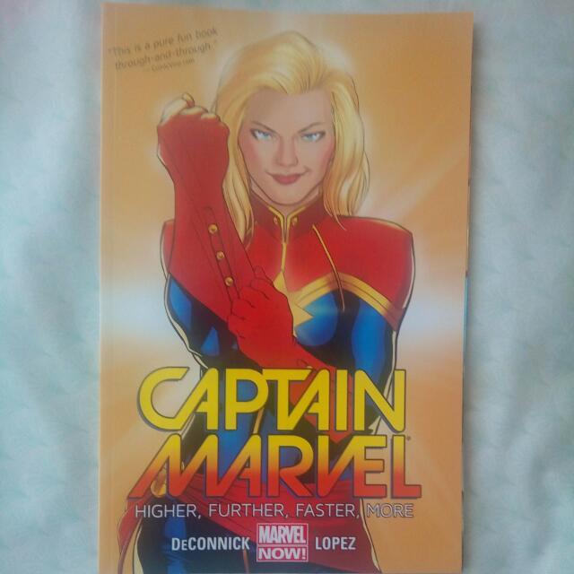 Captain Marvel Vol.2, Vol. 1
