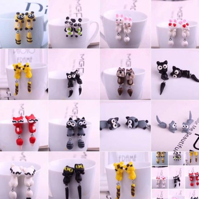 Character Earrings