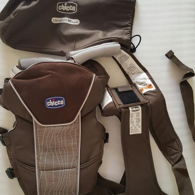 Chicco Ultra Soft Magic Baby Carrier Brown